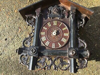 antique cuckoo clock Signed & Dated 1901