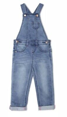 Jack And Milly Girls Frankie Denim Overall's Size 4