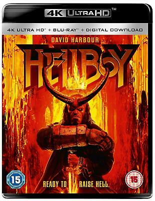 HELLBOY David Harbour BLURAY + 4K ULTRA HD in Inglese NEW .cp