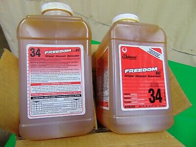 SC Johnson Freedom SC Stripper Concentrate 2 Pack of 84.5 Fl. Oz.