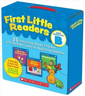 First Little Readers: Guided Reading Level B 25 Irresistible Bo... 9780545231503