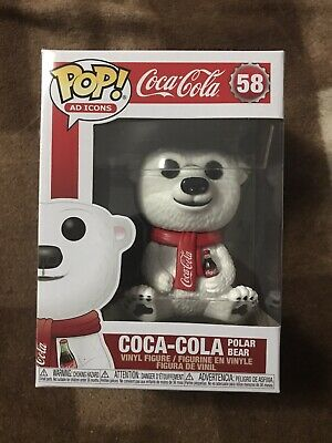 Funko Pop! Ad Icons - Coca Cola Polar Bear Vinyl Figure