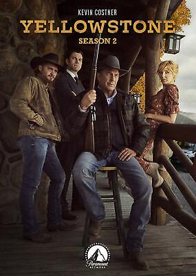 """Yellowstone: Season Two (DVD) Kevin Costner / """"SEALED"""""""