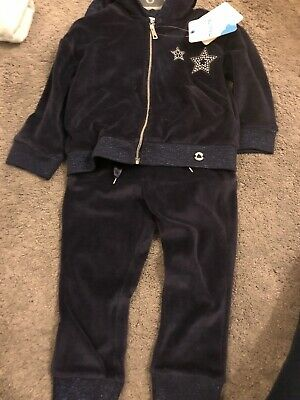 Mayoral Navy Girls Tracksuit Age 2 BNWT