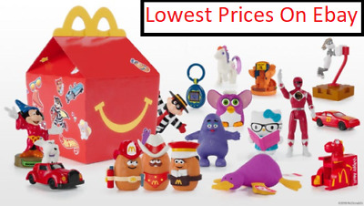 BEST PRICES !  2019 McDONALD'S 40th ANNIVERSARY RETRO HAPPY MEAL TOYS!