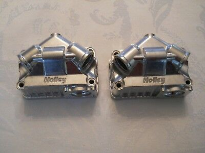 Holley Model 4150/4160 Primary & Secondary Aluminum Fuel Bowls For Double Pumper