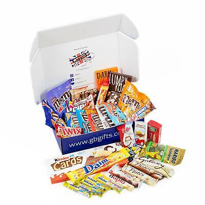 GB Gifts Luxury Assorted Sweets/Chocolate Hamper - Galaxy Milkybar M&Ms Kinder