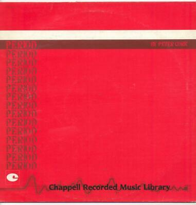 "Chappell Music Library - Period / Nostalgia  - 12"" Vinyl Lp (Peter Cork)"