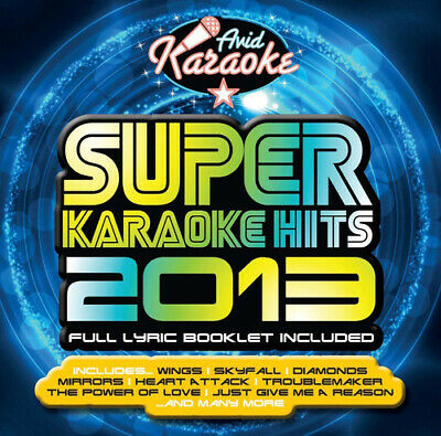 Various Artists : Super Karaoke Hits 2013 CD (2013) Expertly Refurbished Product