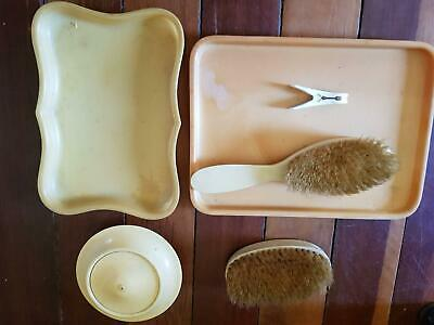 Bakelite Collection Vanity Tray Brush