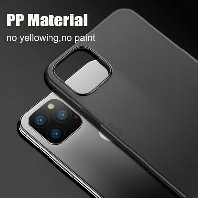 Per IPHONE Apple 11 pro XS Massimo x 7 Ultra Sottile Opaco Frosted Rigida Cover