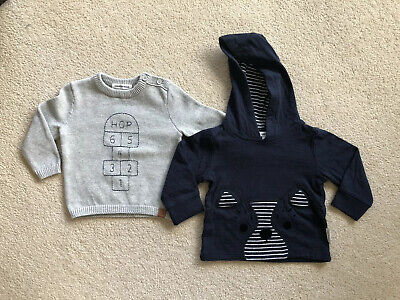 Country Road Baby Boy Knit Jumper Sweater-Size: 00