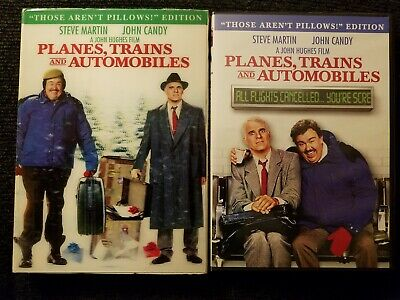 Planes, Trains And Automobiles DVD, 2009 w/ Lenticular Slipcover RARE OOP