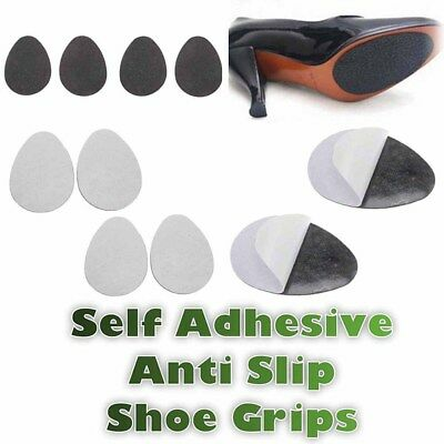 3 Pairs Self-Adhesive Anti-Slip Stick Shoe Grip Pads Rubber Sole Protector CY2