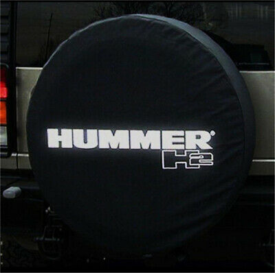 16 Car Styling Suitable For Compatible Hummer H3 Spare Tire Cover 16 Inch PVC Spare Wheel Cover 30-31