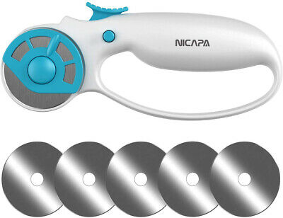 NICAPA Universal 45mm Rotary Cutter Sets for Fabric Loop Cutting Sewing Quilting