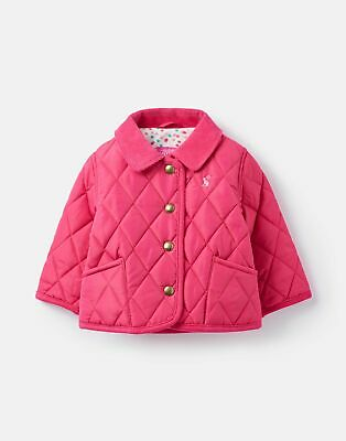 Joules Baby 207238 Quilted Jacket in TRULY PINK Size 18min24m