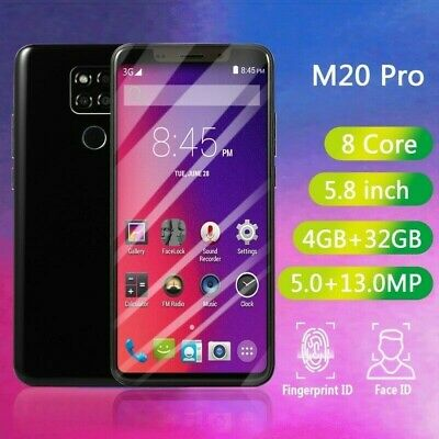 "M20 Pro 5.8"" 4G+32G Smart Phone 8 Core Dual SIM Card Android Smartphone"
