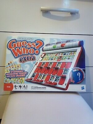 Electronic Guess Who Extra Age 6+ By Hasbro