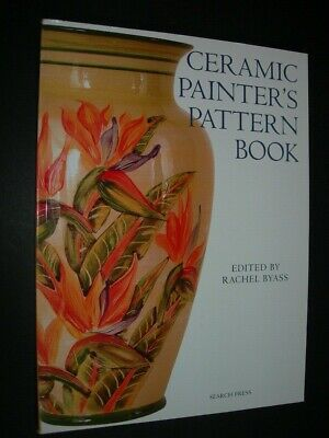 CERAMIC PAINTERS PATTERN BOOK Design Source SEARCH PRESS Byass PATTERN TEMPLATES