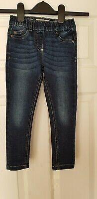 Girls Slim Skinny Jeans The Authentic Cut By Next Dark Blue Age 5 Yrs