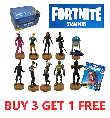 Fortnite Stampers in Foil Bag *BUY 3 GET 1 FREE* Mini figures *PICK YOUR OWN*
