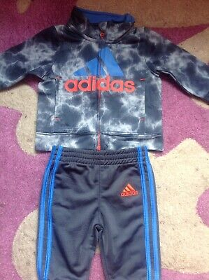 Baby Boys Adidas Tracksuit 3 to 6 months