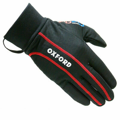 Oxford Chillout Thermal Inner Windproof Warm Motorcycle Gloves Size Xl