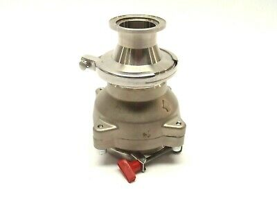 """SS Check Valve 2"""" ID to 1-3/8"""" ID Quick Release Couplings"""