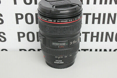 Canon Zoom Lens EF 24-105mm 1:4 L IS USM Ultrasonic Free Shipping!