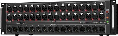 NEW Behringer S32 Digital Snake - 32-Channel MIDAS mic preamps and 16 XLR DJ