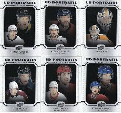 2019-20 Upper Deck Series One Ud Portraits U-Pick  Free Shipping U.s.