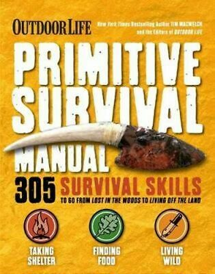 NEW Ultimate Bushcraft Survival Manual By Tim MacWelch Paperback Free Shipping