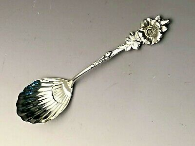 """Floral by Reed & Barton Sterling Silver Sugar Shell 5.25"""""""