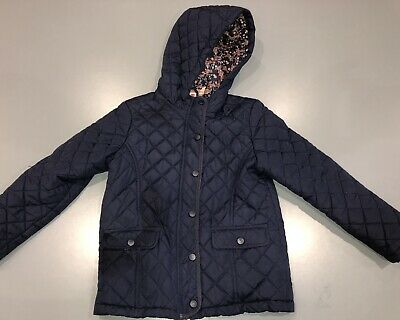 Girls Navy Blue Quilted Jacket 8 Years John lewis