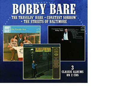 BOBBY BARE  The Travelin' Bare / Constant Sorrow / The Streets Of Baltimore CD