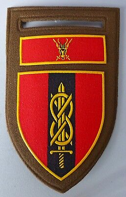 South Africa Army Military Police Mp Provost School Vintage Sword Bok Patch