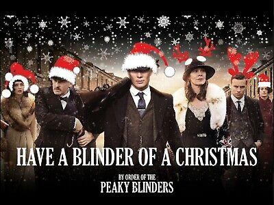 Funny Peaky Blinders Christmas Card & 2020 Wall Calendar RRP £12.90 FREE Deliv!!