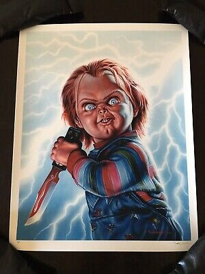 Child's Play Movie Poster PP Chucky Art Print Jason Edmiston Horror Halloween 🎃