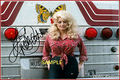 4x6 SIGNED AUTOGRAPH PHOTO REPRINT of Dolly Parton#TP