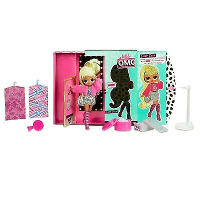 LOL Surprise O.M.G. Lady Diva Fashion Doll with 20 Surprises. Fast shipping!