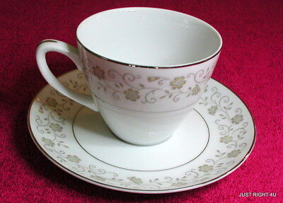 Mikasa (Cameo) CUP & SAUCER SET(s) Exc Pat 220 (8+ avail)