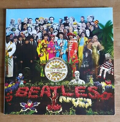 The Beatles Sgt Peppers Lonely Hearts Club Band 180gsm Remastered Vinyl LP 2012