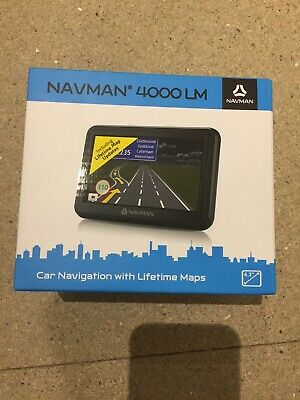 Navman 4000 LM Car Navigation With Lifetime Maps