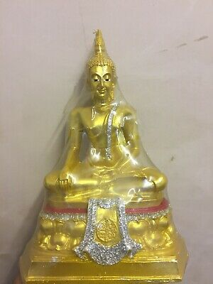 Buddha Statue Gold Colour with Glitter coloured Buddah.