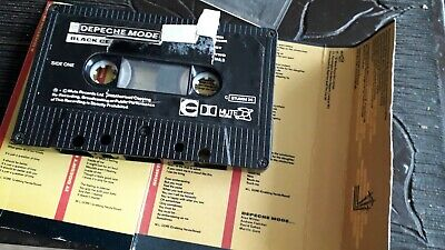 Depeche mode black celebration cassette