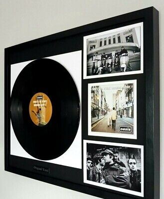 Oasis- 'Whats The Story Morning Glory ' Original Vinyl Album-Liam Gallagher