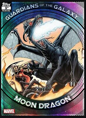 Topps Marvel Collect Guardians Of The Galaxy 1st Printing Moon Dragon (Digital)