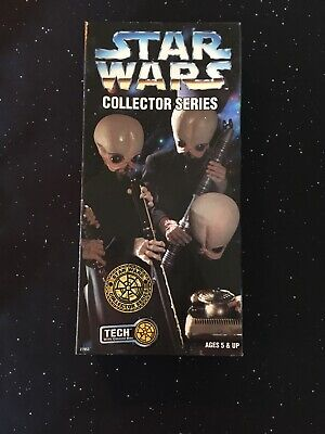 Star Wars Collector Series 12 Inch Tech With Ommni Box Cantina Band