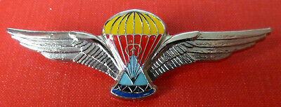Lesotho Africa Airborne  Freefall Parachute Wings African Army Para Jump Wing